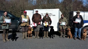 Puppy and Novice winners